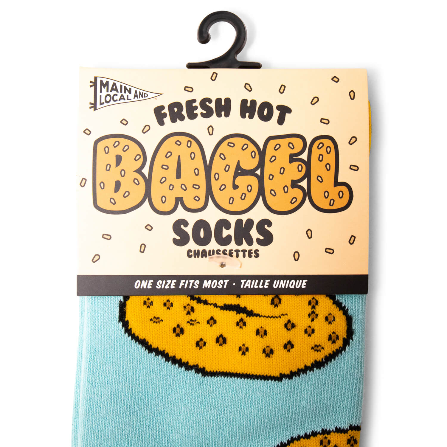Main & Local Bagel Socks