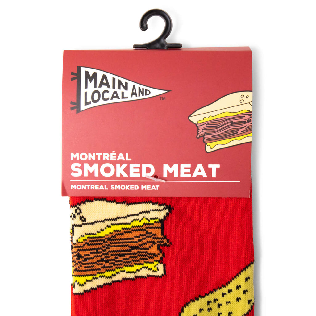 Main & Local Montreal Smoked Meat and Pickle Socks