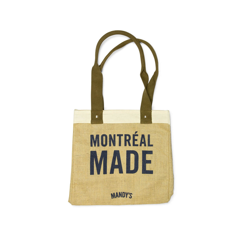"Mandy's ""Montréal Made"" Tote Bag"