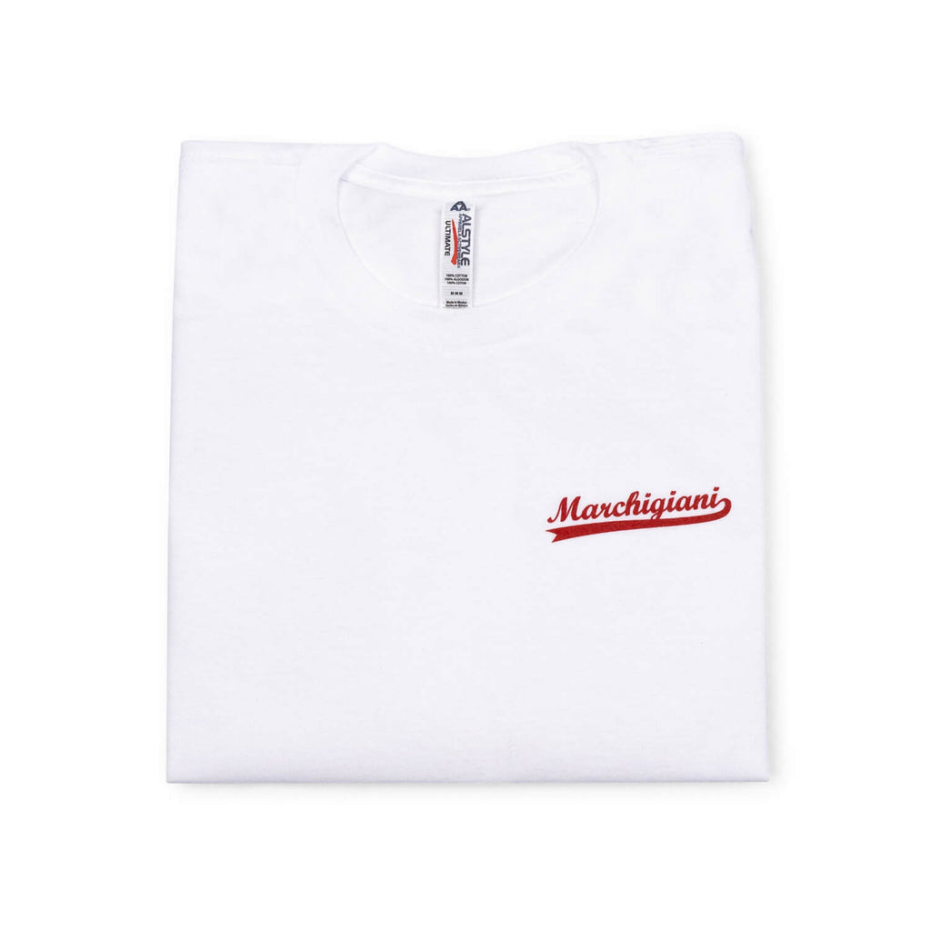 Marchigiani Porchetta T-Shirt (White)