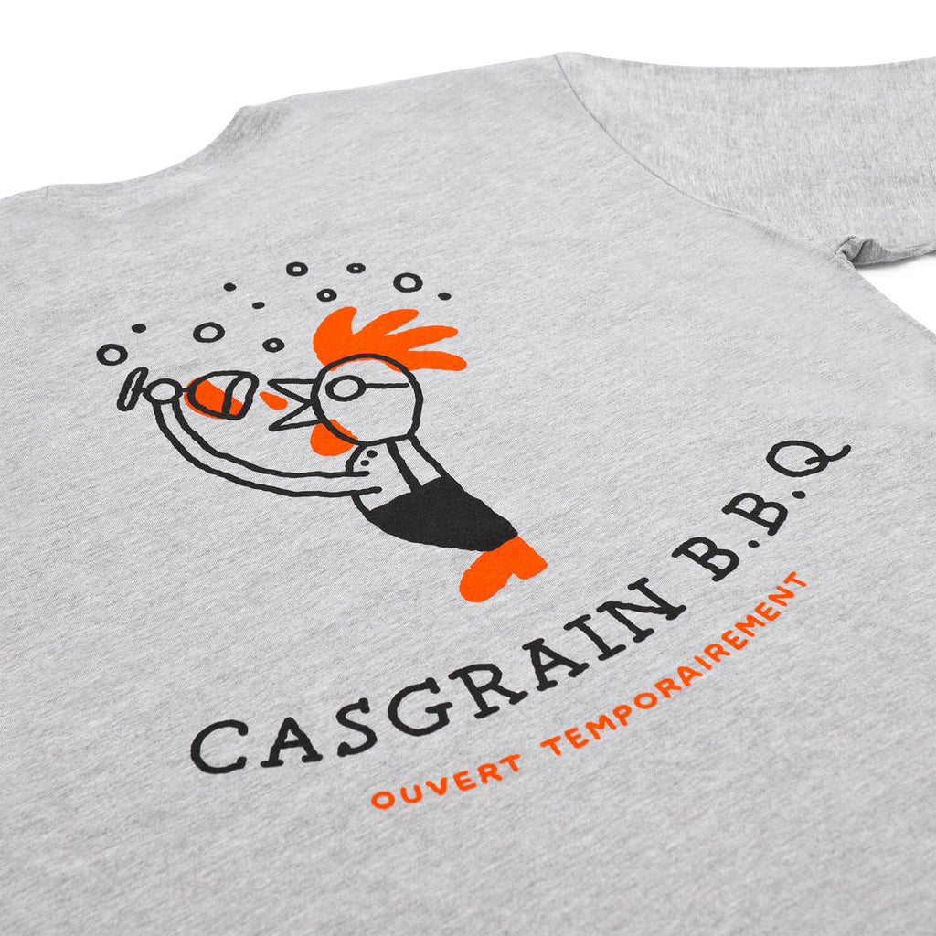 Casgrain BBQ T-Shirt (Grey)