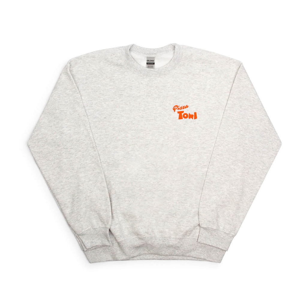 Pizza Toni Crewneck Sweatshirt (Grey)