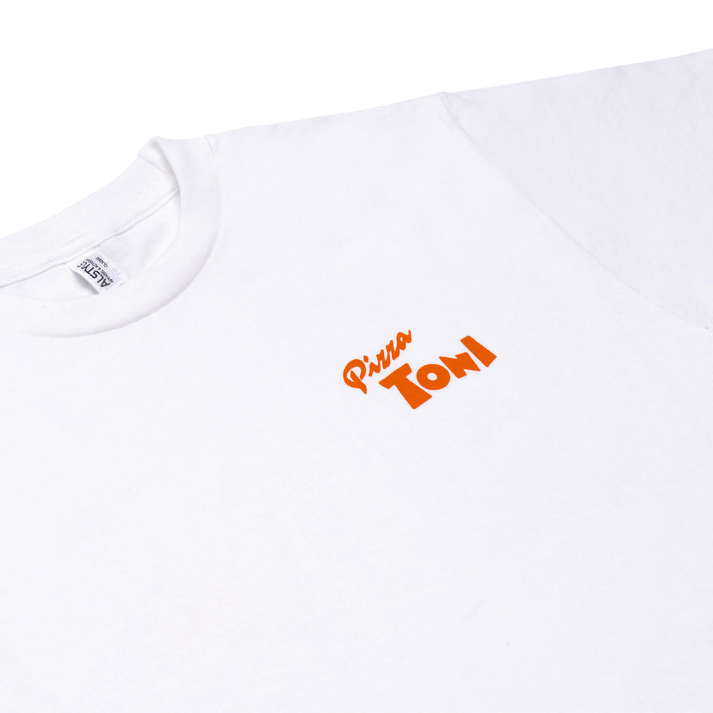 T-Shirt Pizza Toni (Blanc)