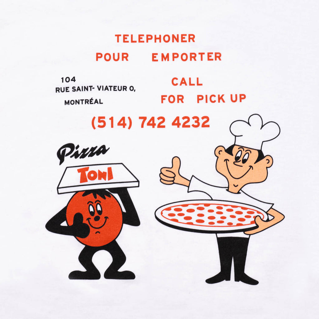 Pizza Toni T-Shirt (White)