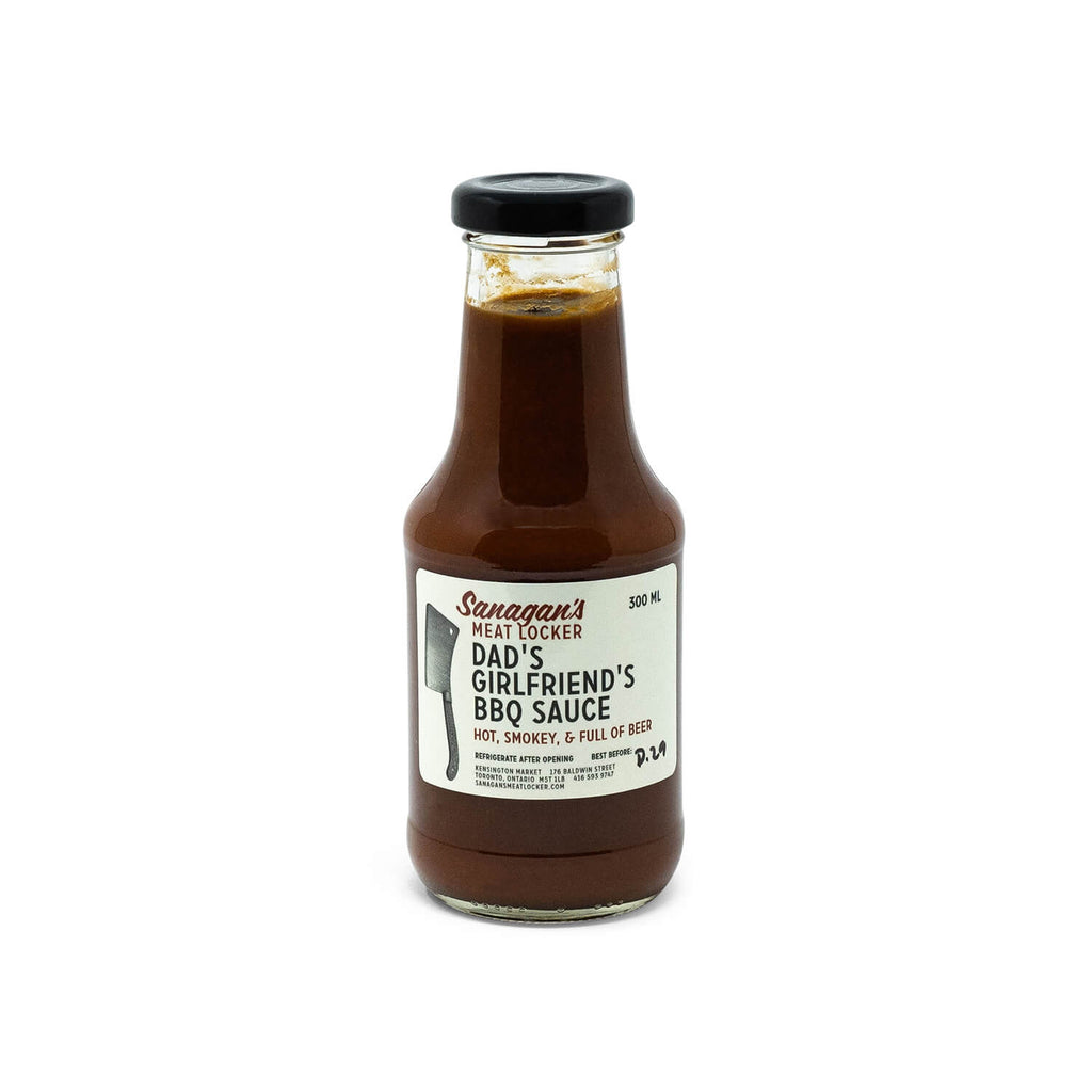 Sanagan's Meat Locker Dad's Girlfriend's BBQ Sauce (400ml)