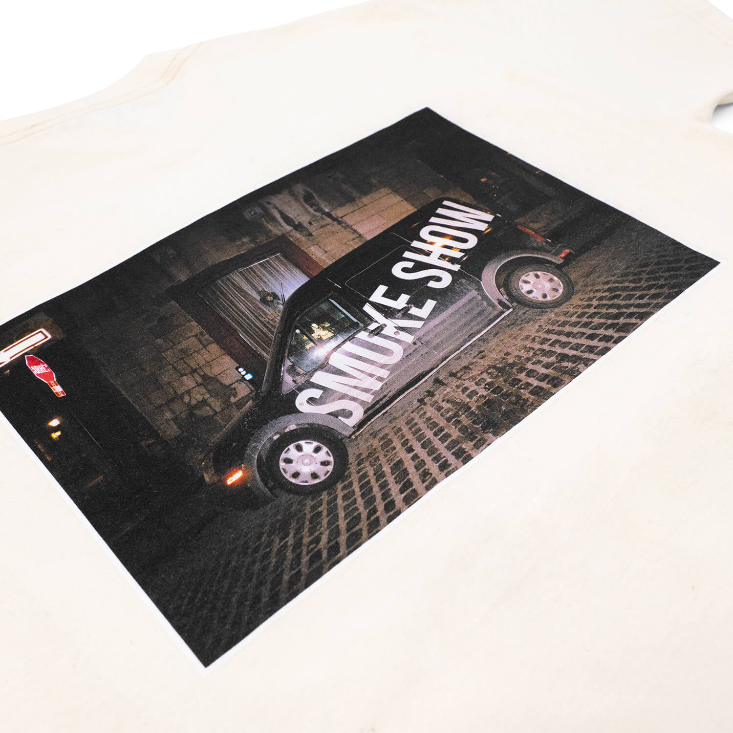 Smoke Show Delivery Van T-Shirt