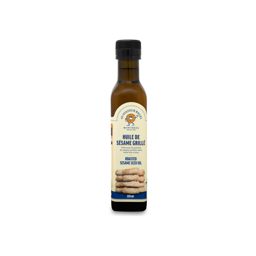 St-Viateur Bagel Roasted Sesame Seed Oil (250ml)