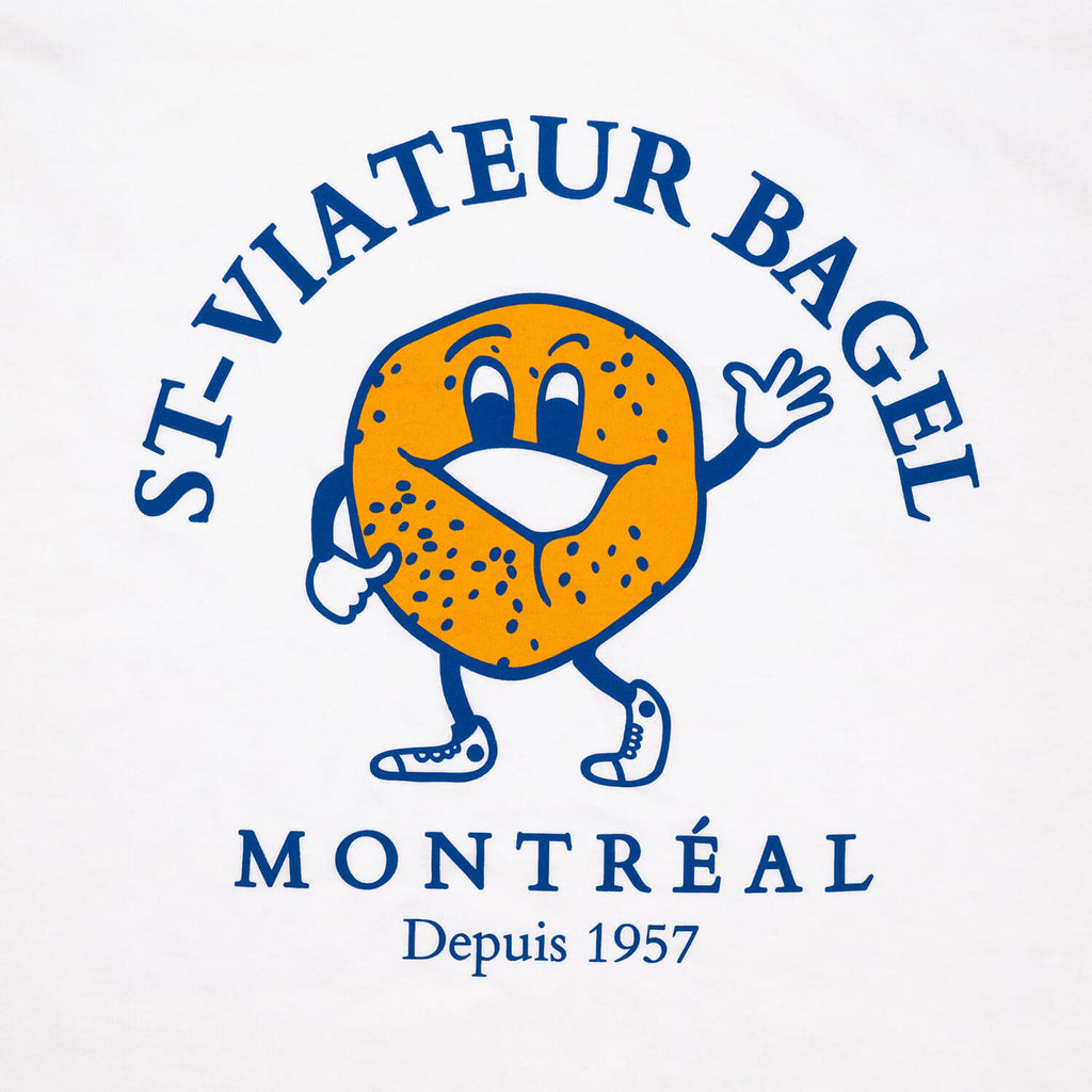 St-Viateur Bagel T-Shirt (White)