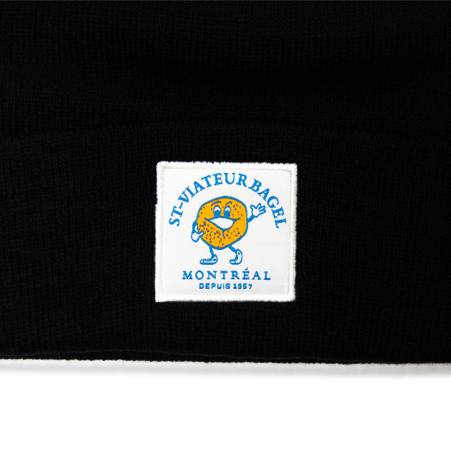 St-Viateur Bagel Tuque (Black)