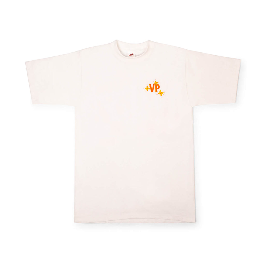 "Vin Papillon ""Vin Nature"" T-Shirt (White)"