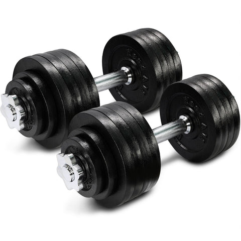 Adjustable Dumbbells 40, 50, 52.5 , 60, 105 to 200 lbs - RetroforReal
