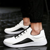 Breathable Big Size Men Casual  Fashion Shoes Men Summer Men's Flat Sneakers - RetroforReal