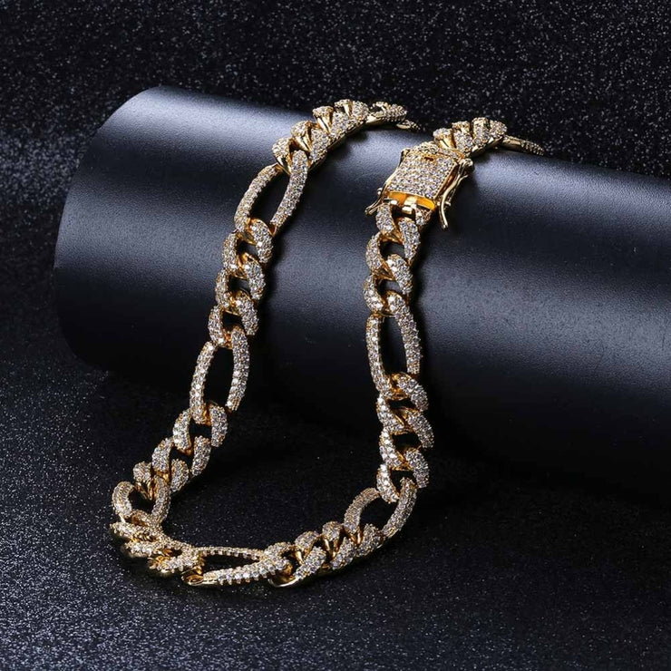 10mm Figaro Chain