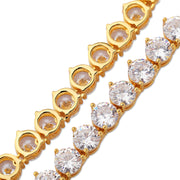 6mm Tennis Chain - Yellow Gold