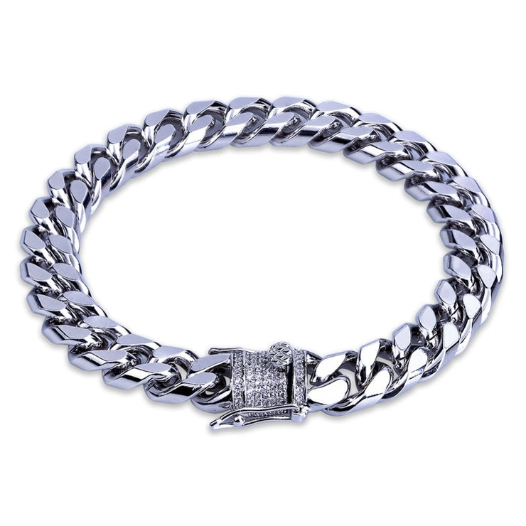 11mm Cuban Link Bracelet