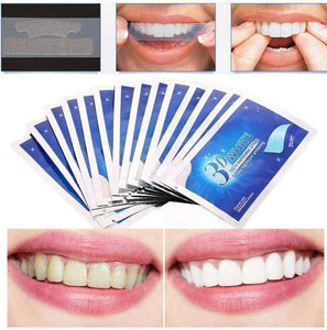 1 3D White Teeth Whitening Strips