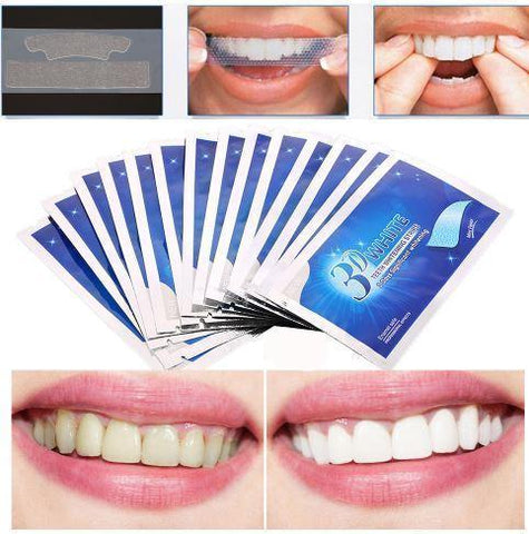 Image of 3D White Teeth Whitening Strips