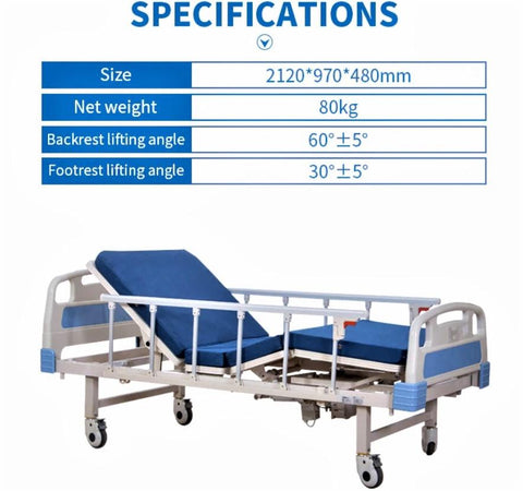 Image of Adjustable Electric Hospital Bed