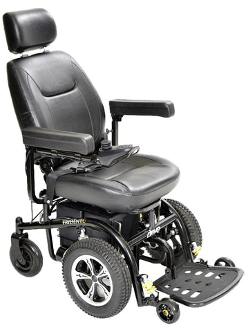 Trident Front Wheel Drive Power Chair - 2850-18