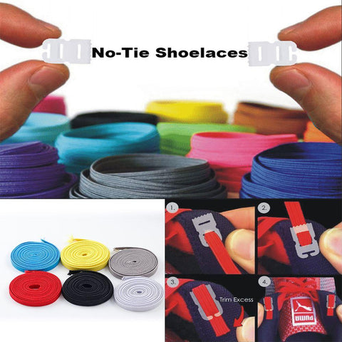 Image of Elastic No-Tie Shoelace