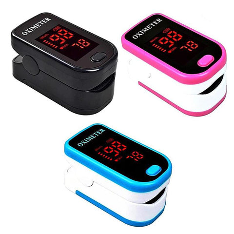 Image of Finger Pulse Oximeter With Case