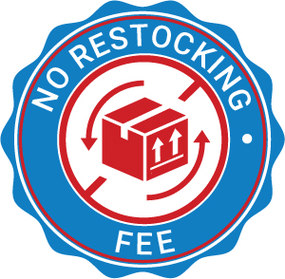 Image of No Restocking Fee