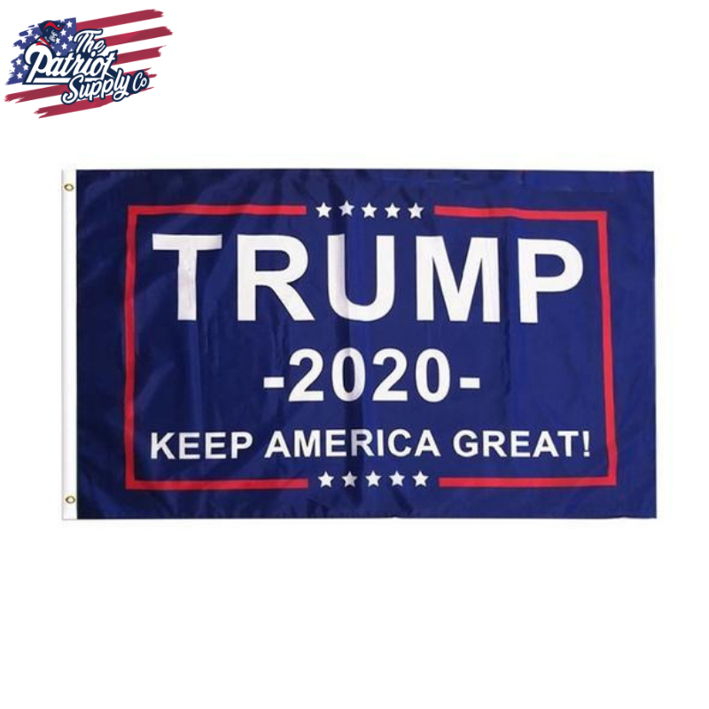 Trump 2020 Keep America Great Flag 3x5 Feet