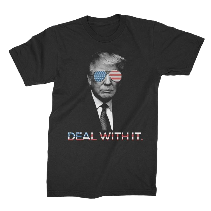 Trump Deal With It T-Shirt