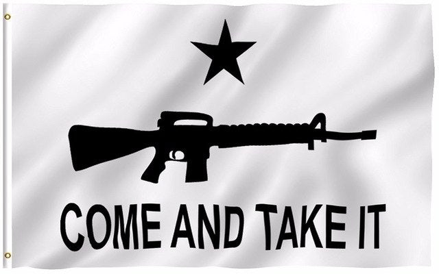 Come and Take It Rifle Flag 3x5 Feet