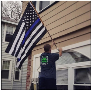 Blue Lives Matter Flag 3x5 Feet