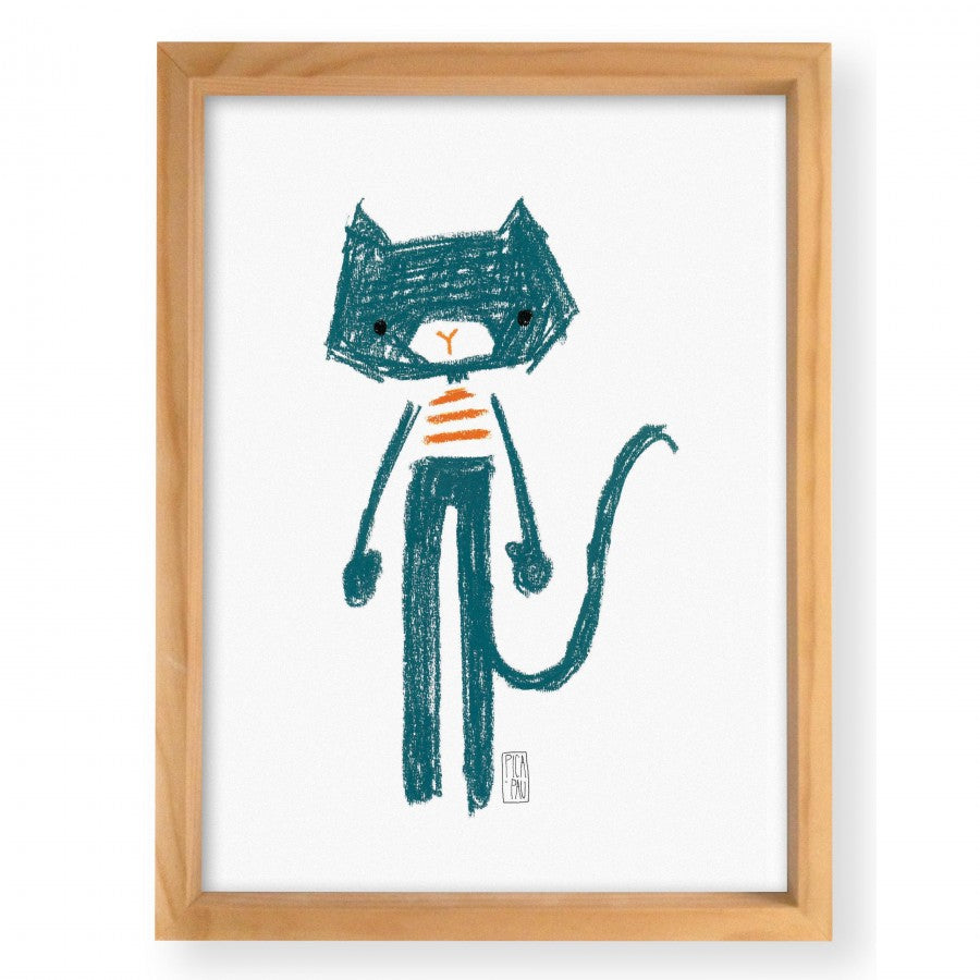 "Wall Art "" Gato Mei"""