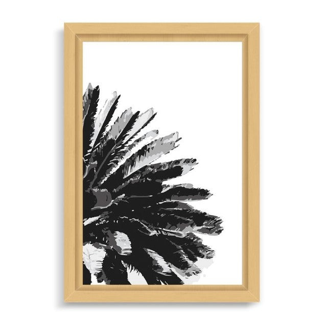 "Ilustración ""Black Palm Tree"""