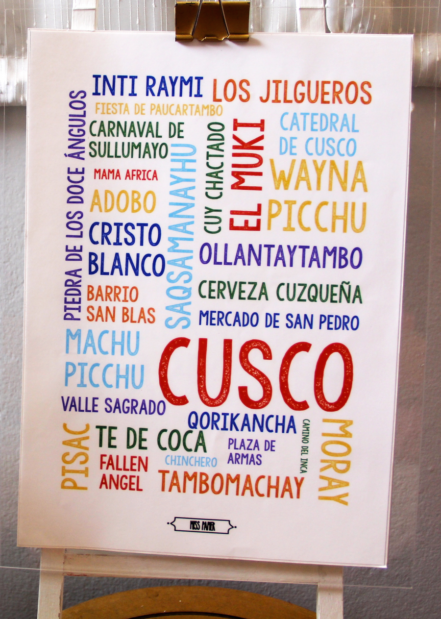 "Wall Art ""Cusco"""