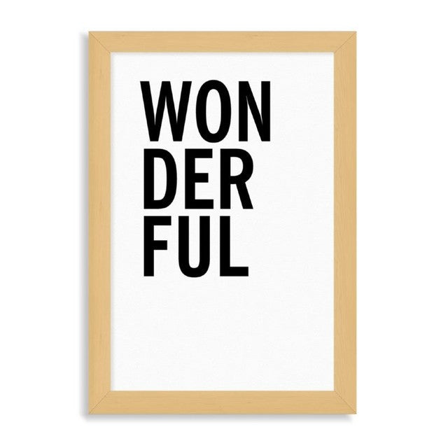"Ilustración ""Wonderful"""