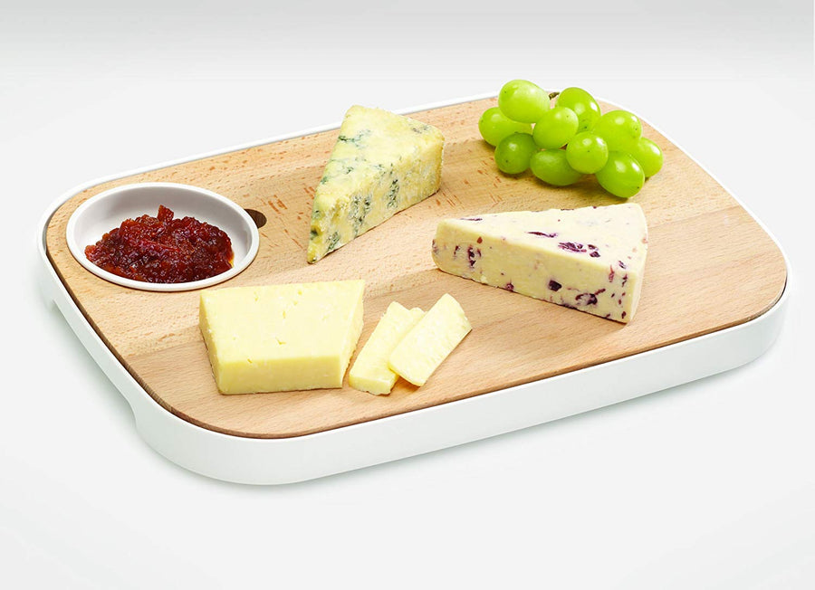 "Tabla para pan y queso ""Slice and serve"""