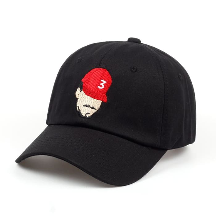 79100abb8a6 HuntYourHat - Chance The Rapper Baseball Cap