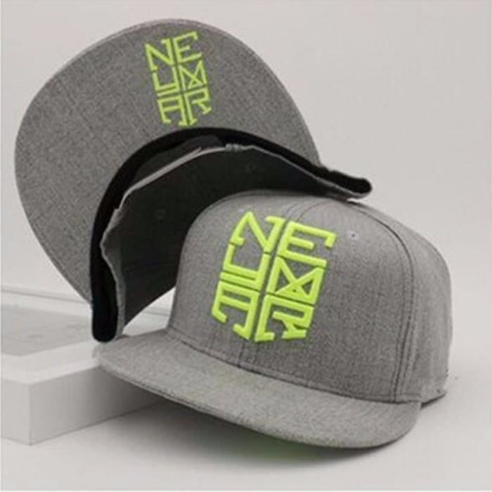 7ee7809d4cc HuntYourHat - Gray Neymar Fashion Cap