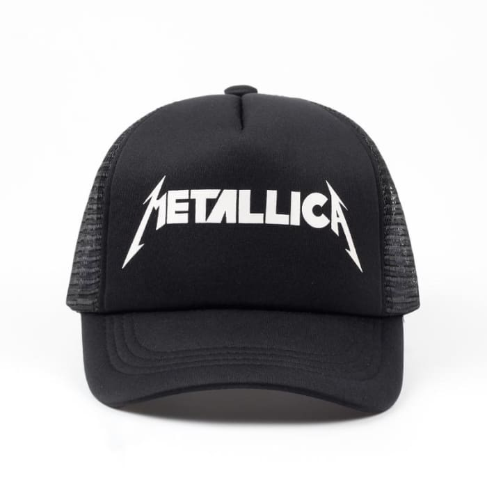 bad120b211a HuntYourHat - Metallica Band Baseball Cap