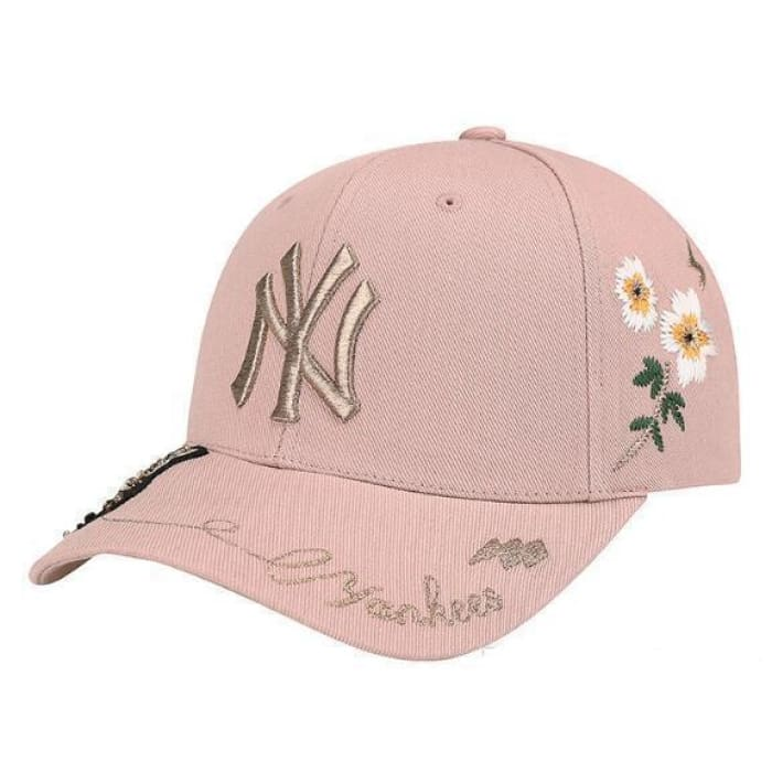 dfd646d2cd3 ... Flowers Baseball Caps - Pink - Hat   Huntyourhat. Next slide