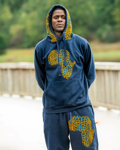 Navy Blue  Traditional Sweatsuit