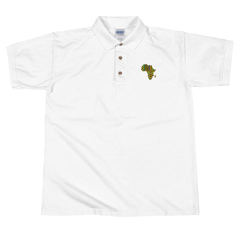 African Map Polo Shirt