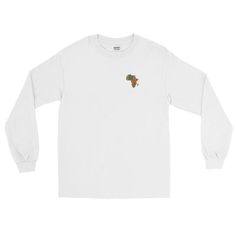Map of Africa Long Sleeve