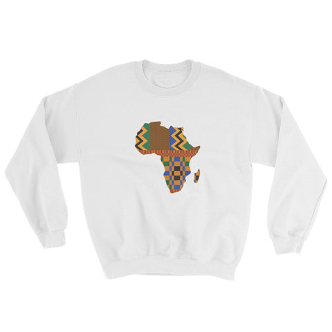 Map of Africa Sweatshirt