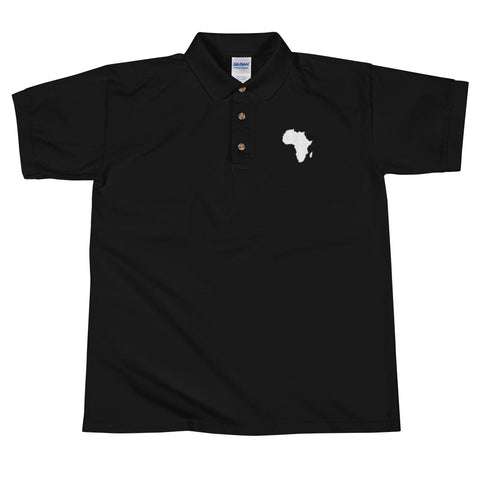 Africa Embroidered Polo Shirt