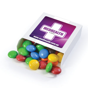 M&M's in 50 Gram Branded  Box