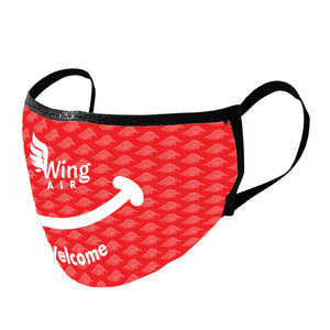 Sublimated Cotton Face Mask