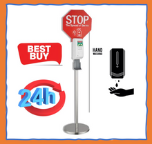 Load image into Gallery viewer, Sanitiser Dispenser Auto & Stand Duo Kit