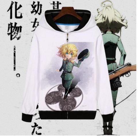 Official Saga Of Tanya The Evil Hoodie