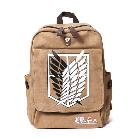 Attack on Titan Backpack - 3 Styles