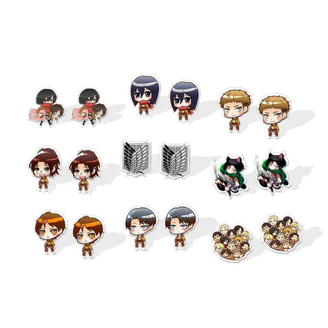 Acrylic Earrings - 18 styles to choose from
